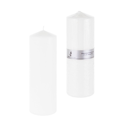 "4 pcs 2"" Unscented Floating Candles - Silver"