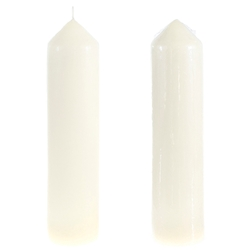 "12 pcs 12"" Unscented Taper Candles - Black"