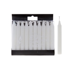 "20 pcs 4"" Unscented Chime / Spell Chime Candle - White"