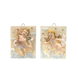 Mega Favors - Angel in the Sky Wall Plaque