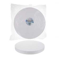 "Mega Crafts - 1 pc 12"" Poly Foam Craft Disc"